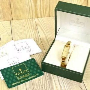 Authentic Gucci Watch 1500 vintage horsebit bangle